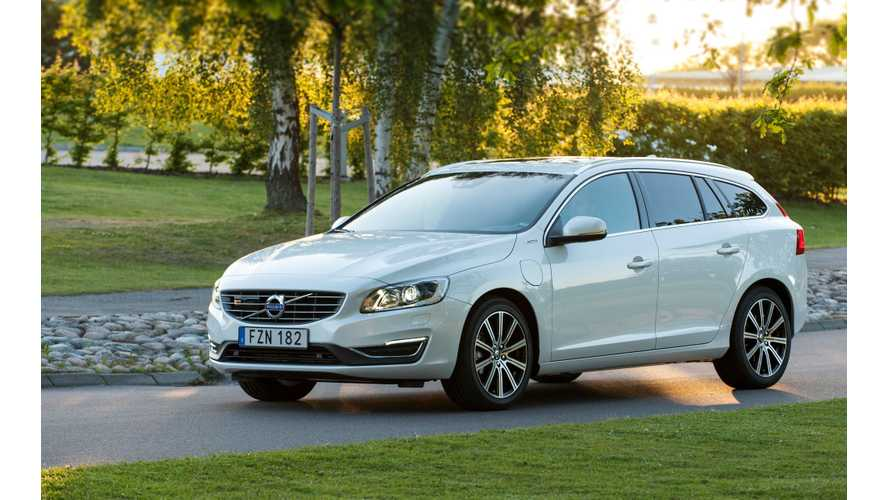 Volvo Introduces Cheaper Version Of V60 Plug-In Hybrid In UK