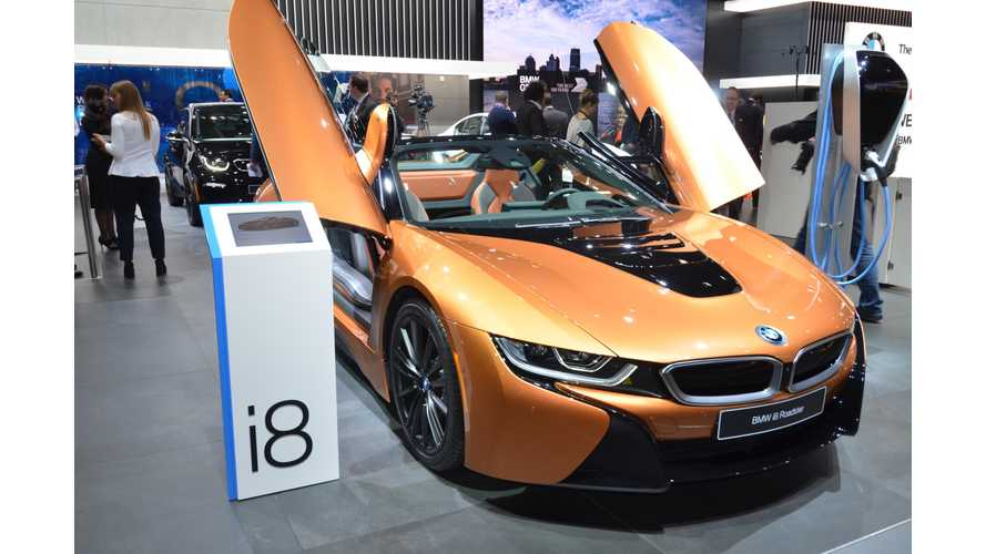 BMW i8 Roadster Priced From $163,300
