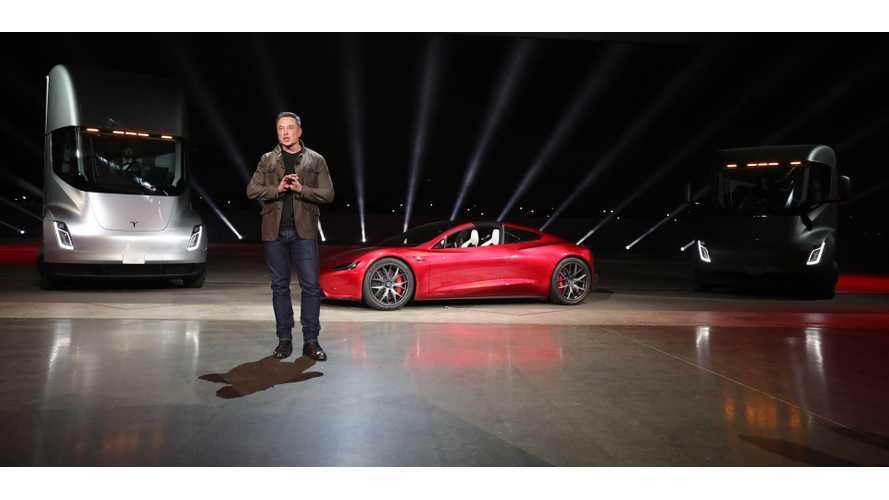 EVANNEX Recaps Tesla Semi Debut: Roadster, Megachargers, More