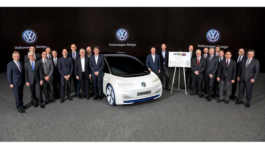 100 Weeks From Now, Volkswagen Will Start I.D. Production, 100,000 Units In 2020