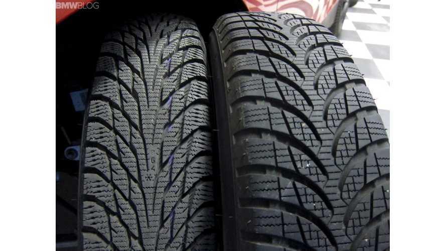 BMW i3 Winter Tire Review: Bridgestone Blizzak LM-500 vs. Nokian Hakkapeliitta R2