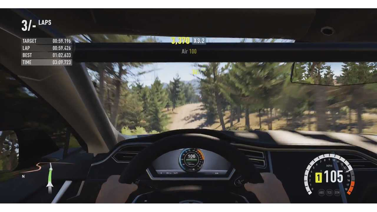 Rally Tesla Model S - Forza Horizon 2 2