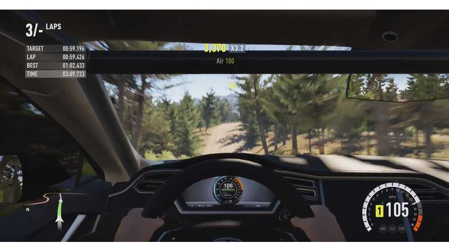Tesla Model S Goes Rallying In Forza Horizon 2 - Video