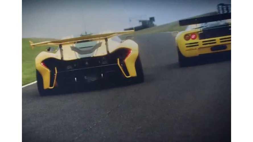 McLaren P1 GTR Meets McLaren F1 GTR - Video
