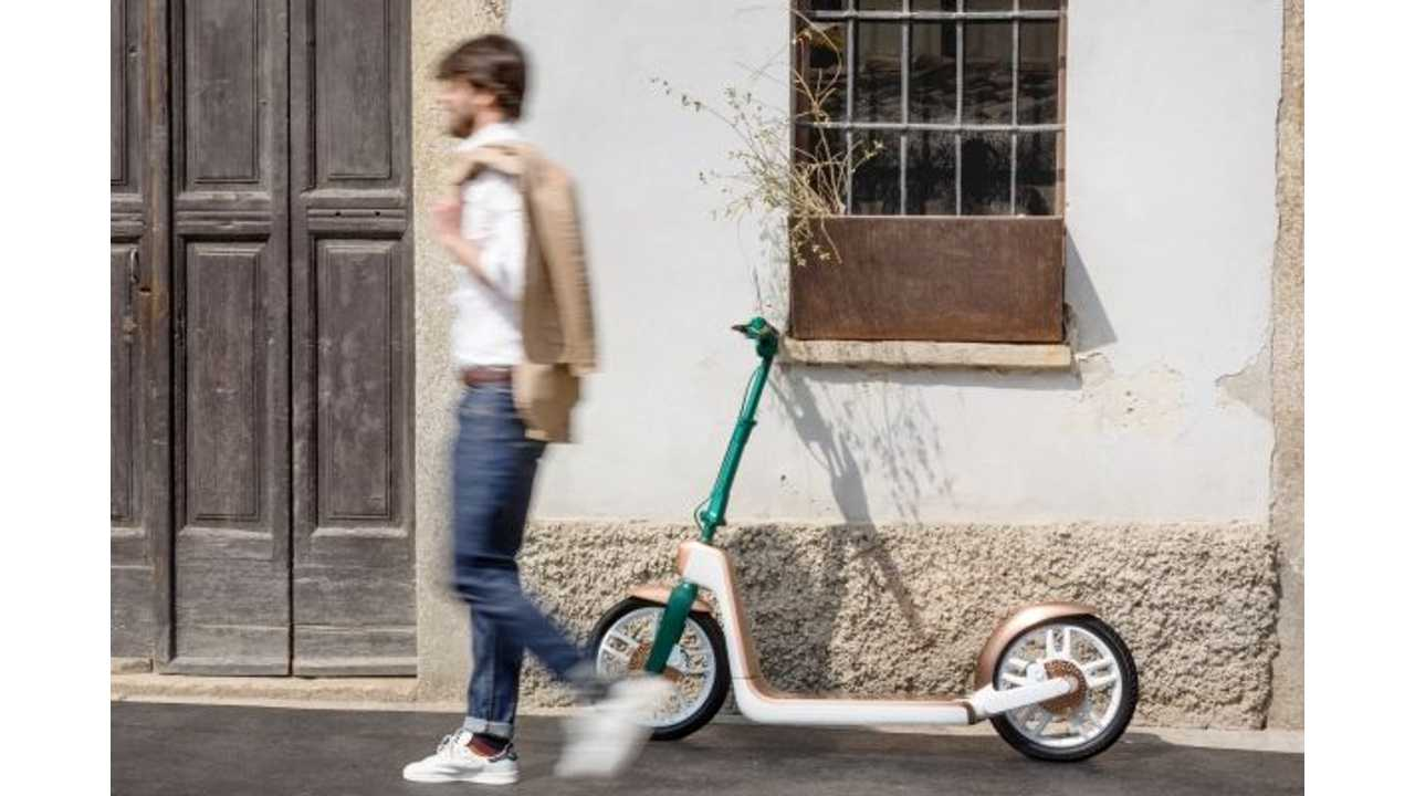 MINI Citysurfer Electric Kick Scooter Concept On Display