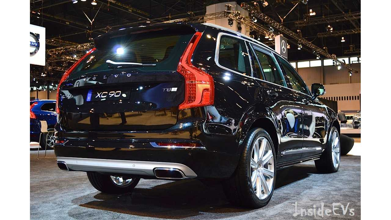 Volvo XC 90 T8 - Image Credit: Mike Anthony / InsideEVs