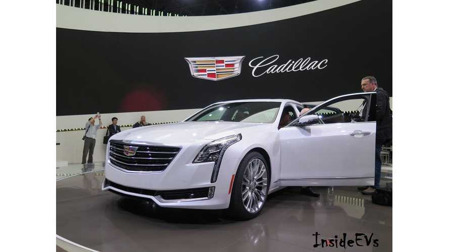 Cadillac CT6 Plug-In Hybrid Expected To Debut This Month In China