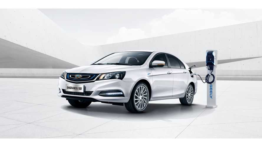 Almost 4.6% Of Geely Car Sales In 2018 Were Plug-Ins
