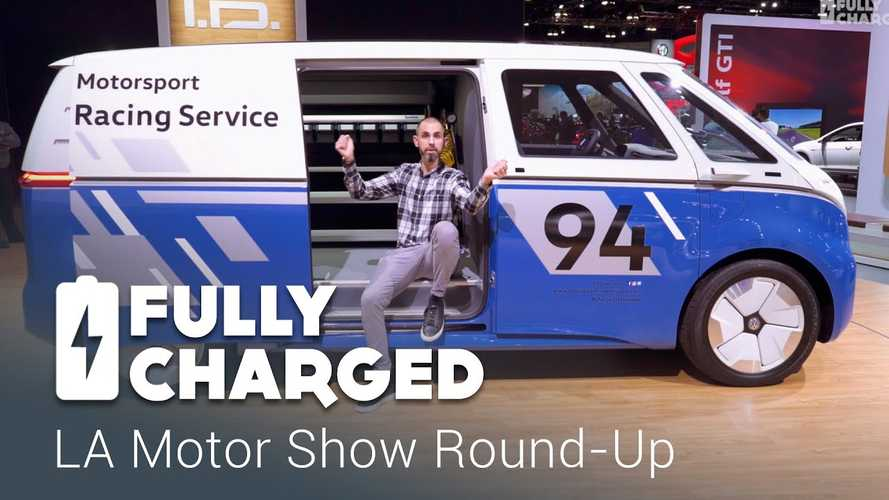 Los Angeles Auto Show Round-Up By Fully Charged