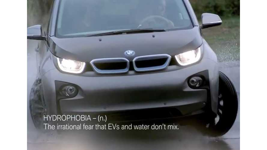 BMW i3 Has No Fear Of Water - Video