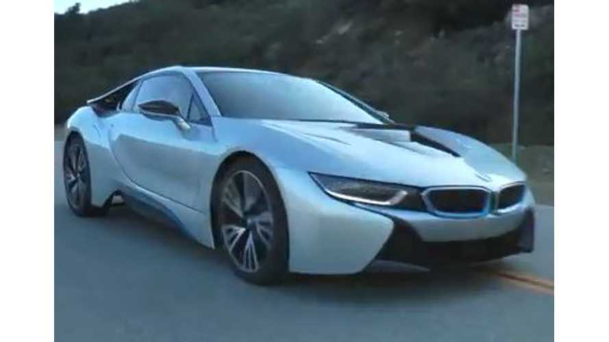 Production Version Of BMW i8 Caught Filming in California - Video
