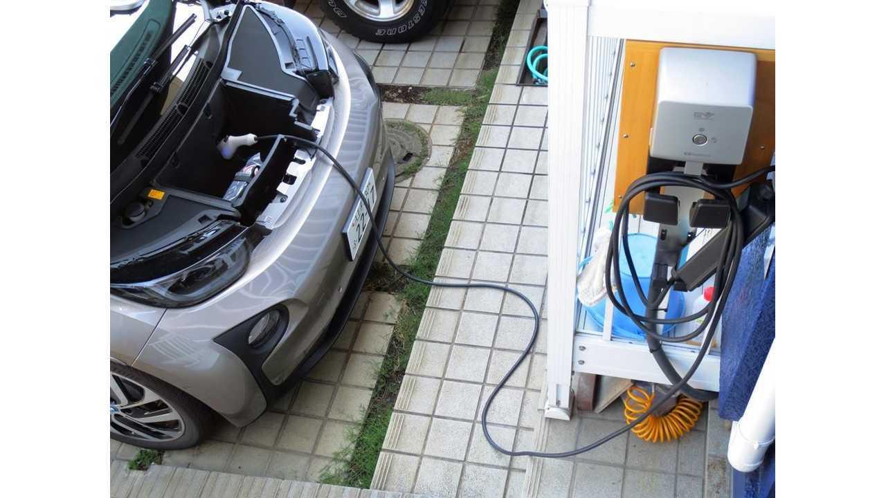 BMW i3 Standard Charging Inlet in Frunk