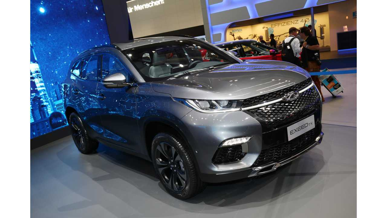 Chery To Launch In Europe With Electric Lineup