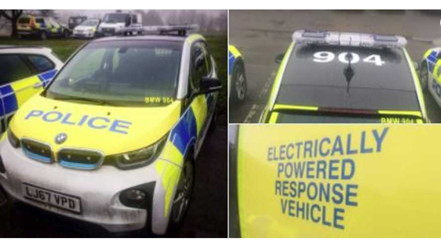 Could The BMW i3 Become The Police Car Of Choice In The UK?