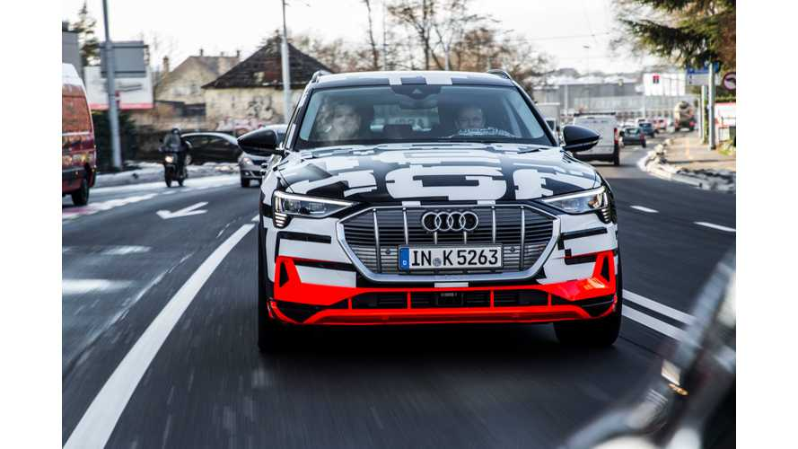 UK Order Books Open For Audi E-Tron