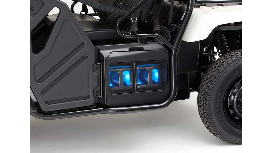 Honda's Mobile Power Pack - One Battery Powers Everything From ATV To Tiny Scooter
