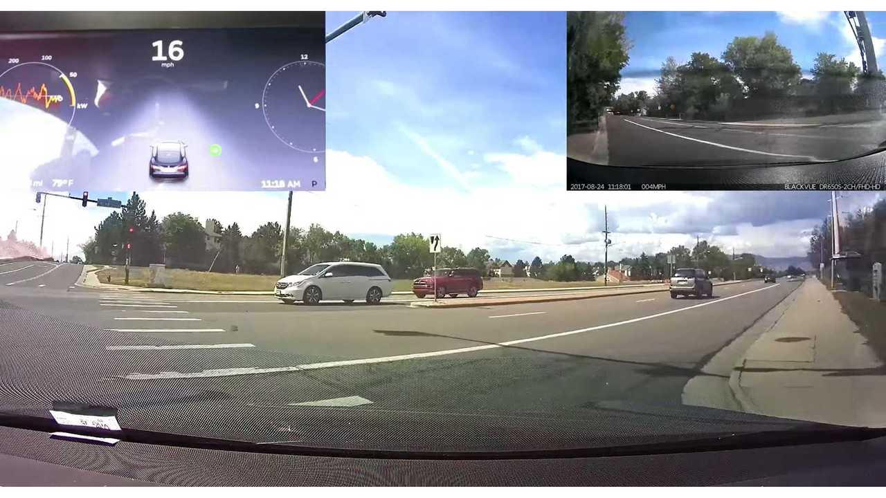 Tesla's Latest Autopilot Update Shows More Improvements - Video