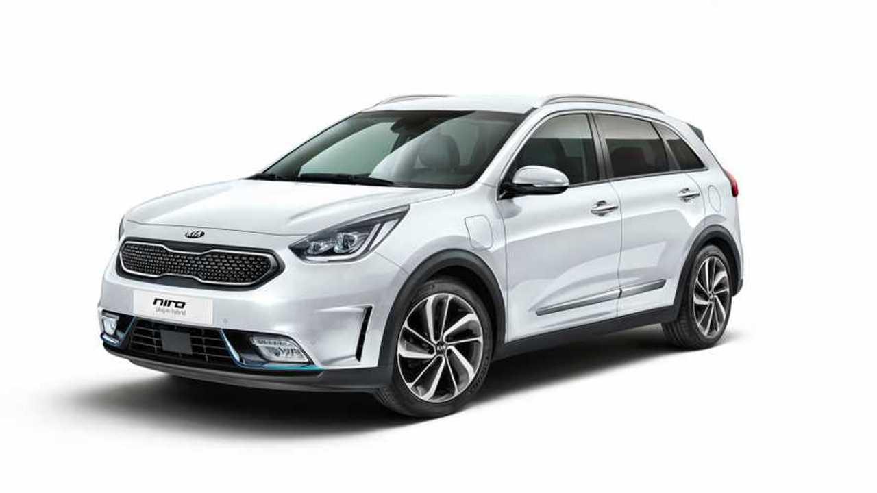 Kia Unveils Niro PHEV & Plug-In Hybrid Optima Wagon