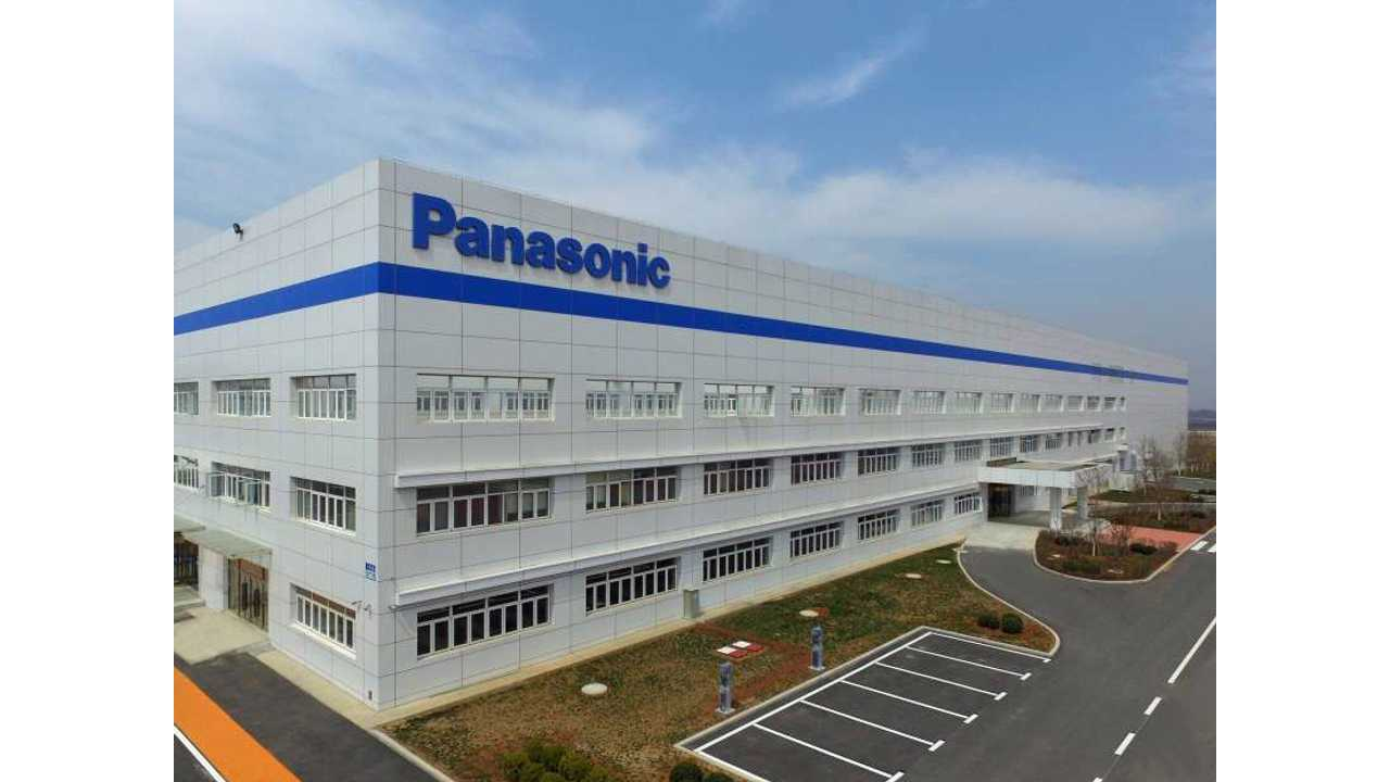 Panasonic's Automotive Lithium-Ion Battery Factory in Dalian, China