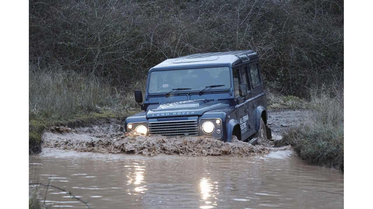 Land Rover Says Net-Gen Defender Might Be Electrified