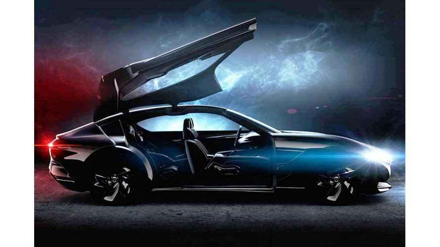 UPDATE: Pininfarina Teases Electric HK GT Concept Set For Geneva Debut