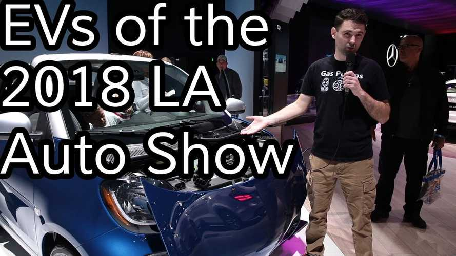 A Humorous Look At The Electric Cars Of The LA Auto Show: Video