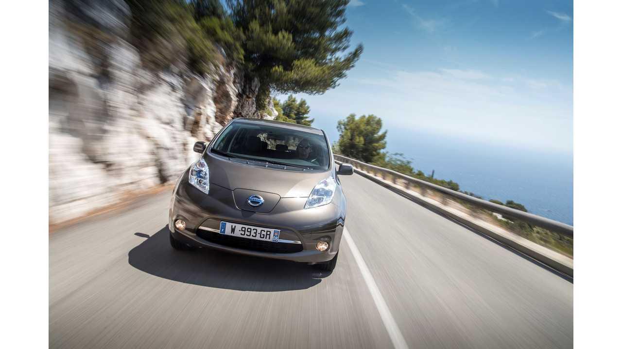 Nissan Launches New Longer Range 2016 LEAF - Video