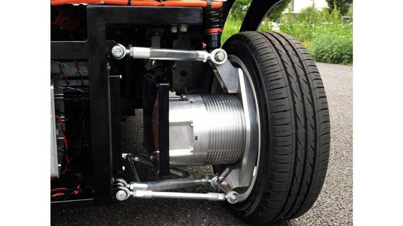 World's First Wireless In-Wheel Electric Motor
