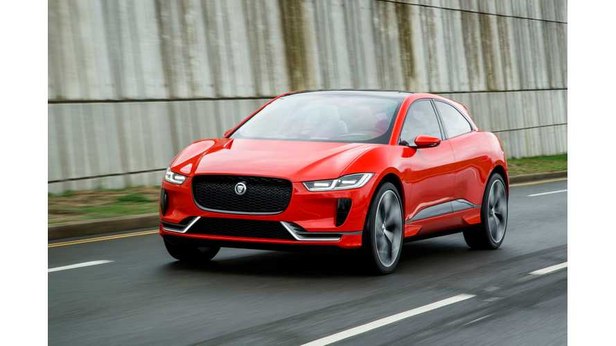 Jaguar I-PACE - the
