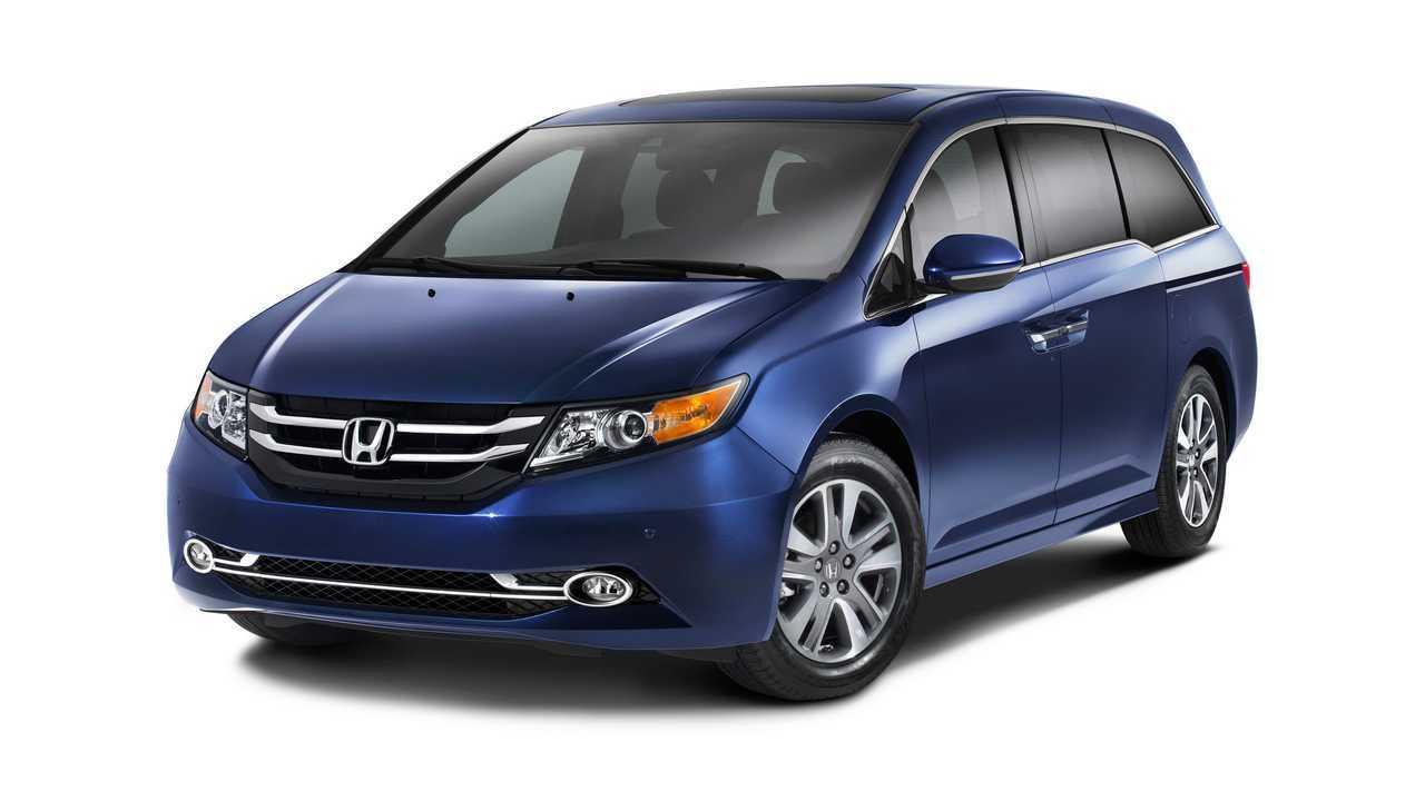 Honda Odyssey Might Get Electrified