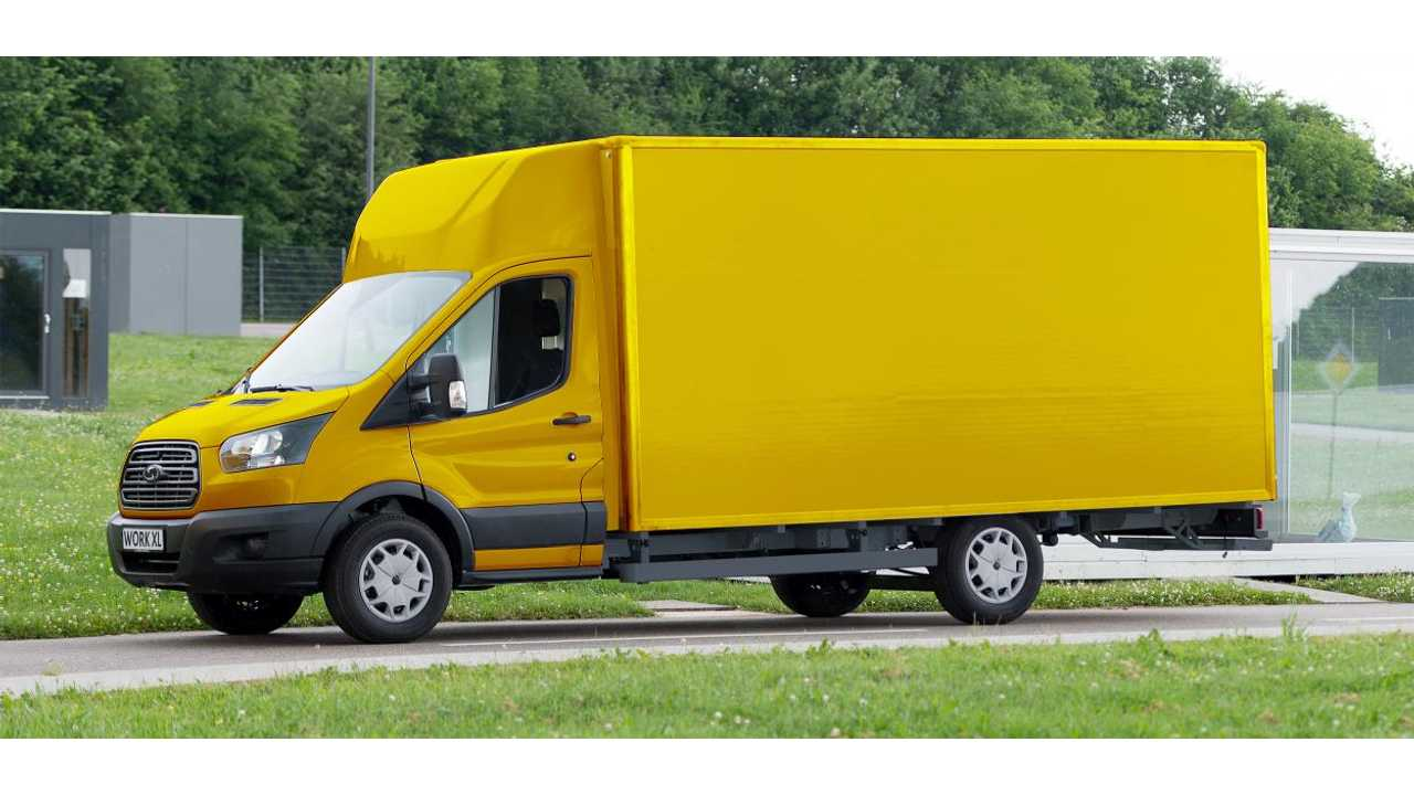 German Postal Service Turns To Ford For 2,500+ Electric Vans