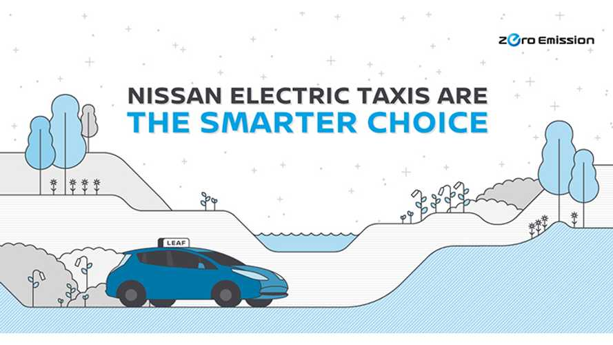 Nissan Releases Details On Its Global Electric Taxi Revolution