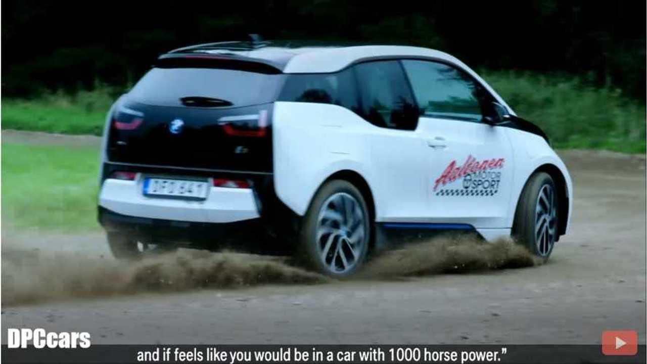 BMW i3 Gets Sideways With Rally Legend Rauno Aaltonen - Video