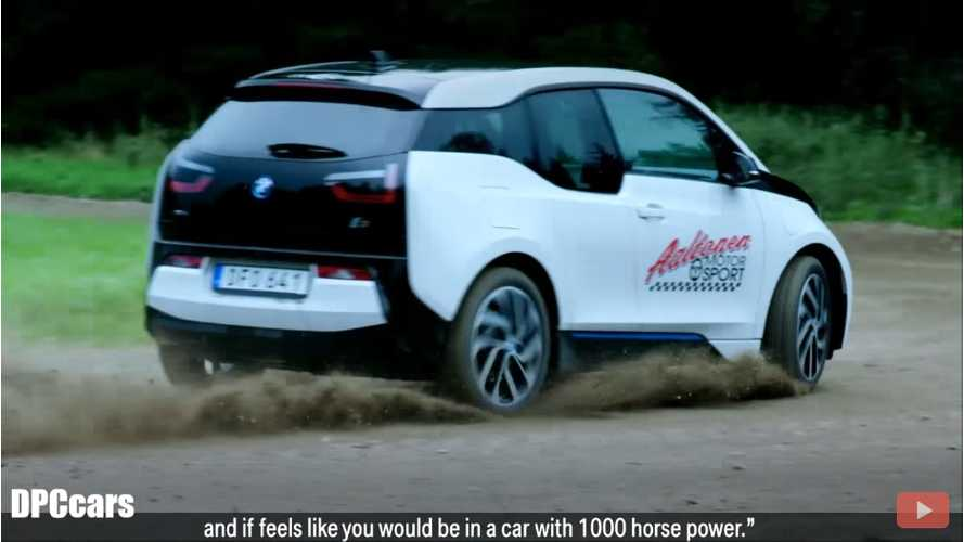 BMW i3 Gets Sideways With Rally Legend Rauno Aaltonen - Video