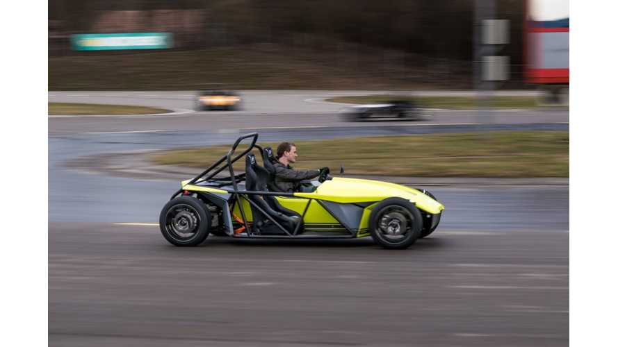Kyburz eRod - An Electric Roadster For Summer Fun (w/video)