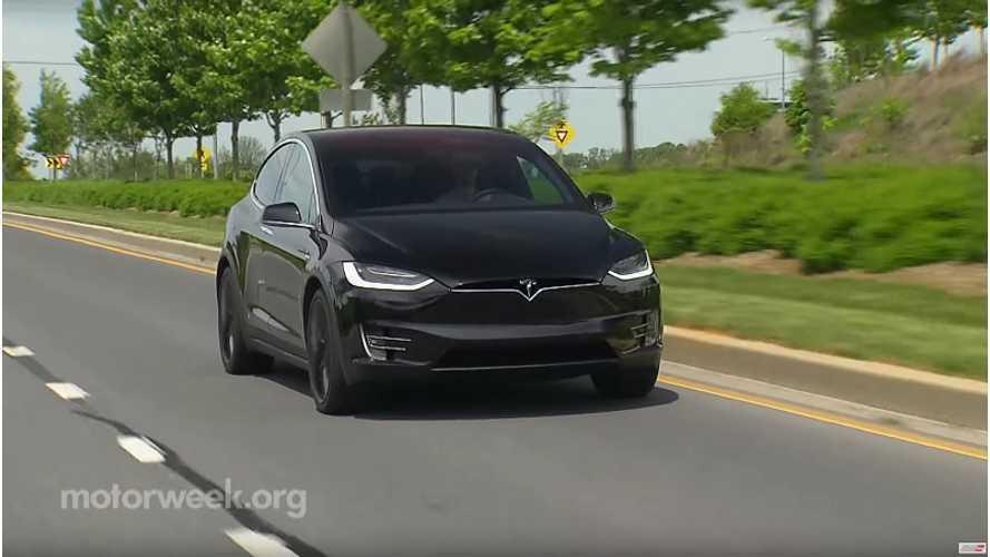 MotorWeek Road Test Of 2016 Tesla Model X - Video
