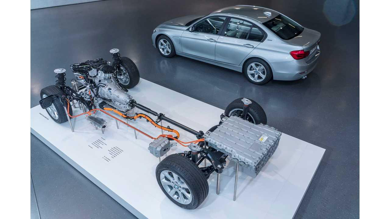 Bmw 330e Exhibit Drive Train