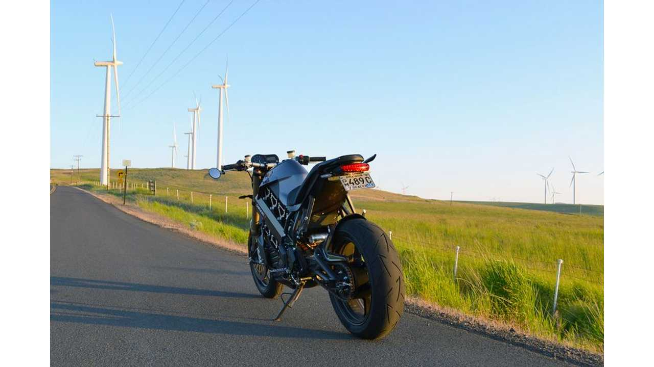 Wicked Point Of View! Brammo Empulse R On Country Roads - Videos