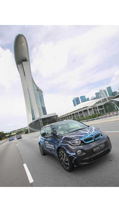 BMW i3 Shows Up In Singapore With On-Sale-Soon Status