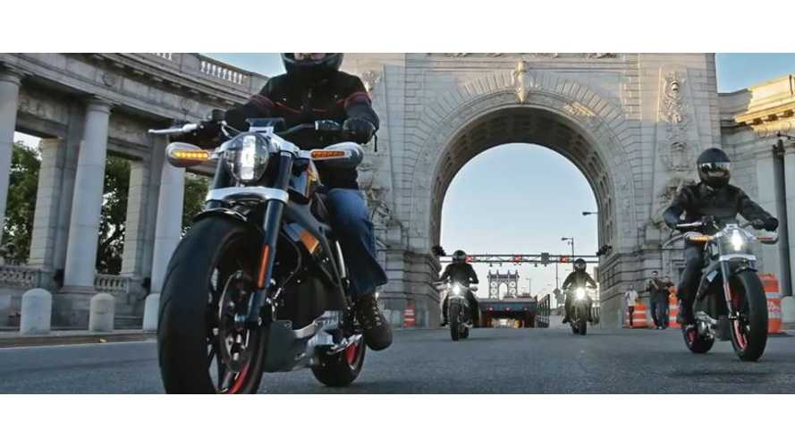 Harley-Davidson LiveWire Motorcycle.com Video From NYC Launch Event