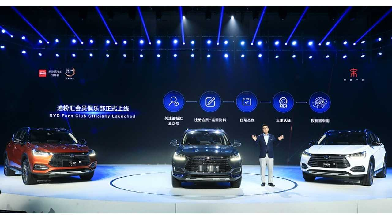 BYD Refreshes New Song & Qin Pro PHEVs & BEVs: Range Up To 310 Miles