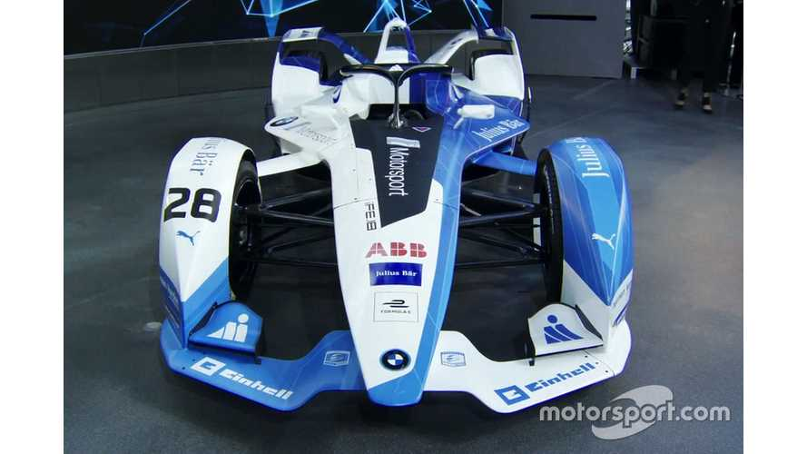 Sims Joins da Costa In BMW Formula E Line-up