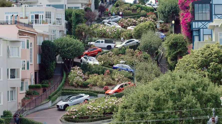 Watch The Jaguar I-Pace Invade San Francisco
