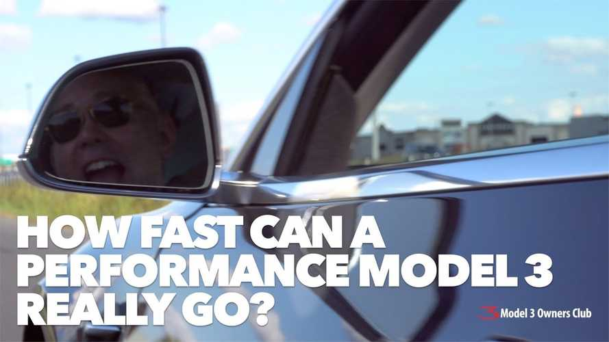 Watch Tesla Model 3 Performance Set New 0 To 60 MPH Record