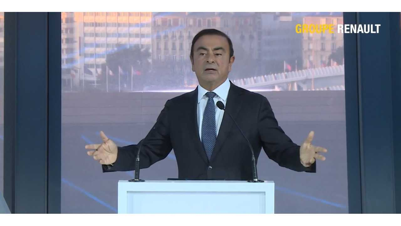 Renault-Nissan CEO Ghosn Seems To Claim Tesla Still Doesn't Profit