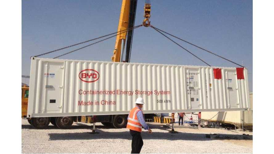 BYD To Deliver 100 MWh Energy Storage In Mexico