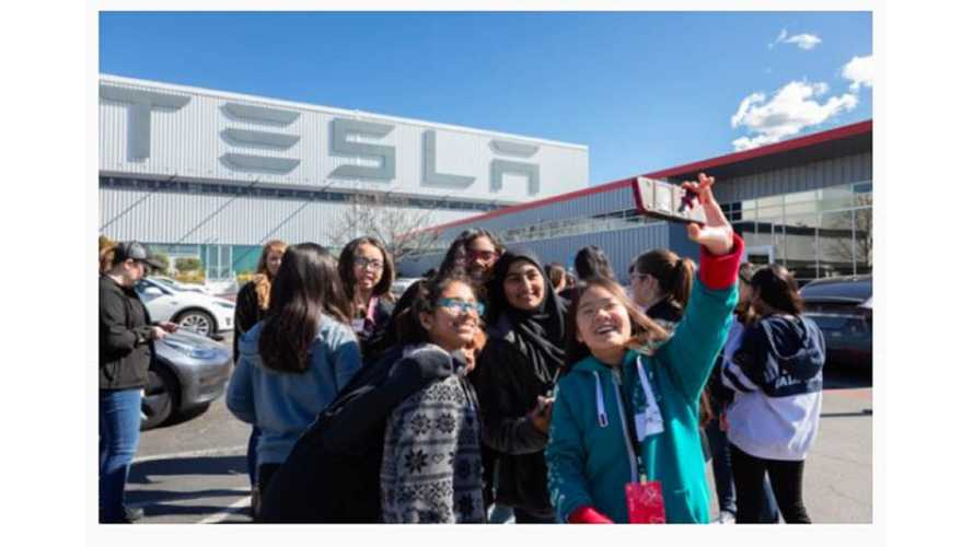 "Tesla Hosts ""Introduce A Girl To Engineering"" At Multiple Sites"