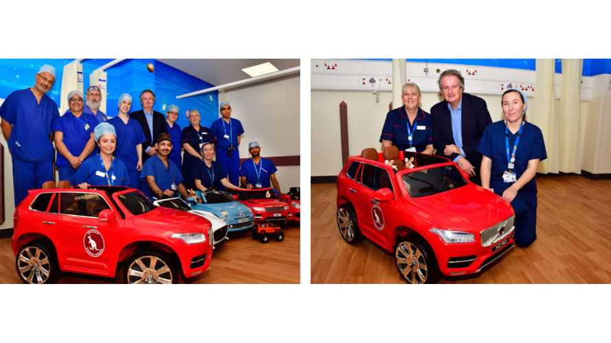 Miniature Electric Cars Bring Joy To Kids At Children's Hospital