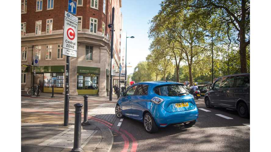 UK Excludes PHEVs From Plug-In Electric Car Grant: BEVs Still Qualify