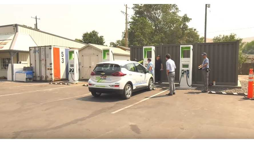 Electrify America: Over 20 Stations Installed, Including First In Oregon